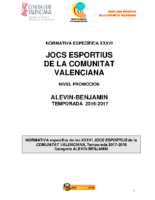 170714 Bases Competición Balonmano PROMOCIÓN 17-18