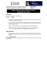 170925 Bm Sistema de competición IR Preferente 17-18 CADETE FEM. ALICANTE