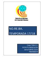 180215 Sistema de competición Copa IR Preferente 17-18 I.M. NORTE