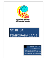 180418 Normativa Copa FBMCV 2ª N.M. NORTE 17-18