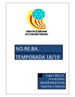190416 Normativa Copa FBMCV 2ª N.M. NORTE 18-19