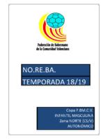 190417 Sistema de competición Copa IR Autonómico I.M. 18-19 NORTE