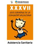 Asistencia Sanitaria XXXVII JOCS ESPORTIUS 18-19