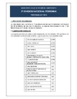 Bases de Competición SENIOR 2ª NACIONAL F. 17-18