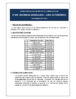 Bases de Competición SENIOR 2ª NACIONAL M. 17-18