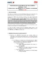 PROTOCOLO de ACTUACIÓN en caso de ACCIDENTES 17-18