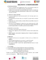 REGLAMENTO CATEGORÍA BENJAMÍN