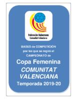 Bases Copa C.V. FEMENINA 19-20