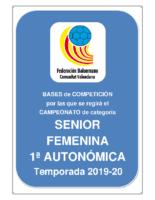 Bases SENIOR 1ª AUTONOMICA F. 19-20