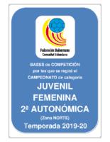 Bases JUVENIL 2ª AUTONOMICA F. 19-20