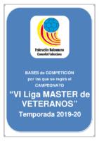 Bases VI Liga MASTER de VETERANOS 19-20