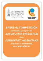 190918 Bases de Competición JOCS ESPORTIUS Autonómico 19-20