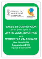 Bases de Competición Jocs Esportius ALEVIN Castellon 19-20