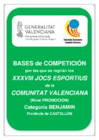 Bases de Competición Jocs Esportius BENJAMIN Castellon 19-20