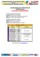 Concentración C.F. CHESTE 26,27 y 28 DIC