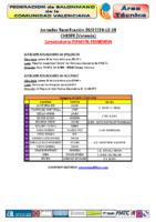 Concentración I.F. CHESTE 26,27 y 28 DIC
