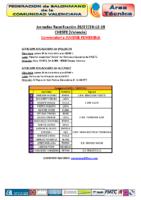 Concentración J.F. CHESTE 26,27 y 28 DIC
