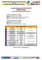 Concentración J.M. CHESTE 26,27 y 28 DIC