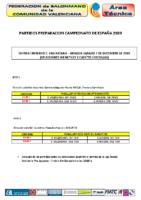 PARTIDOS SSAA C. VALENCIANA vs ARAGÓN