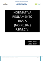 NO.RE.BA. FBMCV 19-20
