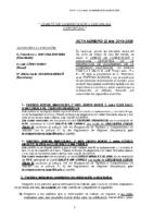 ACTA NÚM. 22 (19-20)