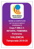 Copa IR Preferente I.F. 19-20 VALENCIA