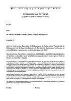 Autorización Paterna Afiliación