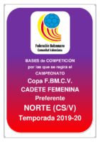 Copa IR Preferente C.F. 19-20 NORTE