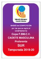 Copa IR Preferente C.M. 19-20 SUR