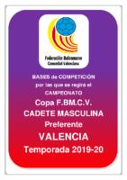 Copa IR Preferente C.M. 19-20 VALENCIA
