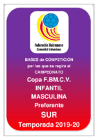 Copa IR Preferente I.M. 19-20 SUR