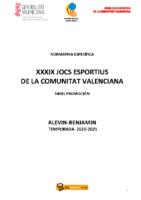 201202 Normativa Balonmano Promoción 20-21